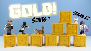 ROBLOX Celebrity Collection Series 1 Gold Mystery Boxes at Walmart