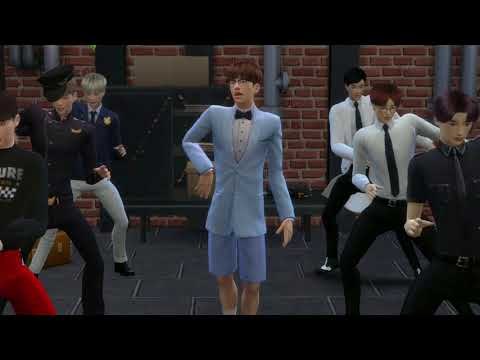 BTS - DOPE [SIMS 4 FMV]