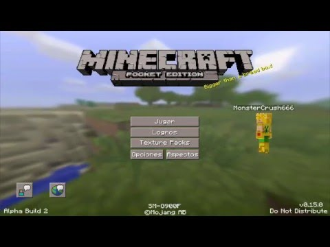 MINECRAFT PE 0.15.0 - DESCARGA APK (FALSO) - BUILD 5 HEROBRINE END DRAGON - Desmintiendo Fakes