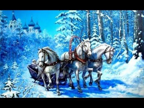 В лунном сиянии снег серебрится-русский романс