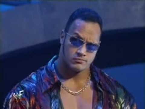 The Rock makes fun of Triple H
