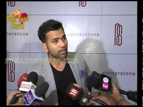 Cricketer Rohit Sharma Celebrates his Record 264 Runs in One Day Match  1