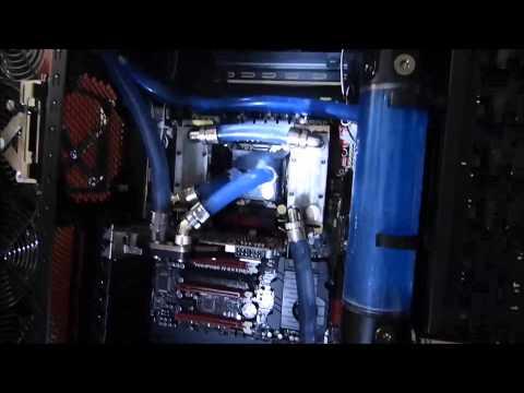 GBA Watercooler - Nehalem - Optimus Fase 1 - i7 3930K + Rampage IV Extreme + 32GB 2133Mhz + HAF X