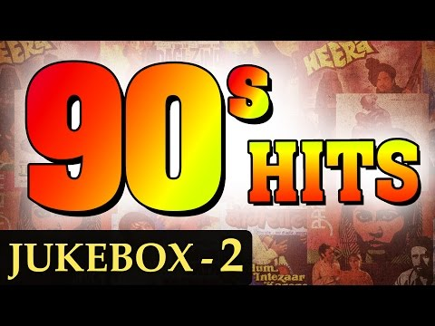 Best of 90s Hindi Songs HD  Jukebox 2  Non Stop Bollywood Old Hits 19901999