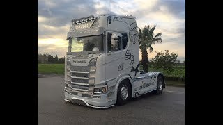 2018 Scania RS800 V8 Power Tuning (Special Edition 1\1) White Edition F.lli Perrotti Next Generation