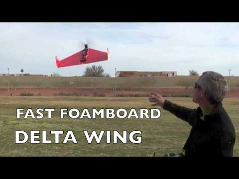 how to make delta wing