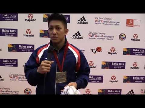 Interview to KIYUNA RYO Male Kata, World Champions. 2014 World Karate Championships