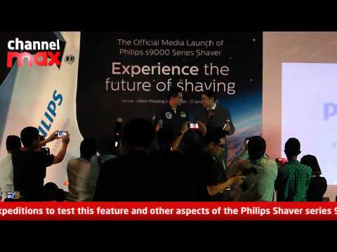 Get a space-age shave with the Philips Shaver series 9000