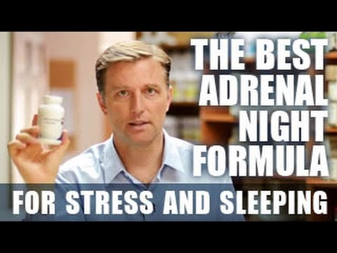 The Best Adrenal Fatigue Formula - for Stress and Sleeping