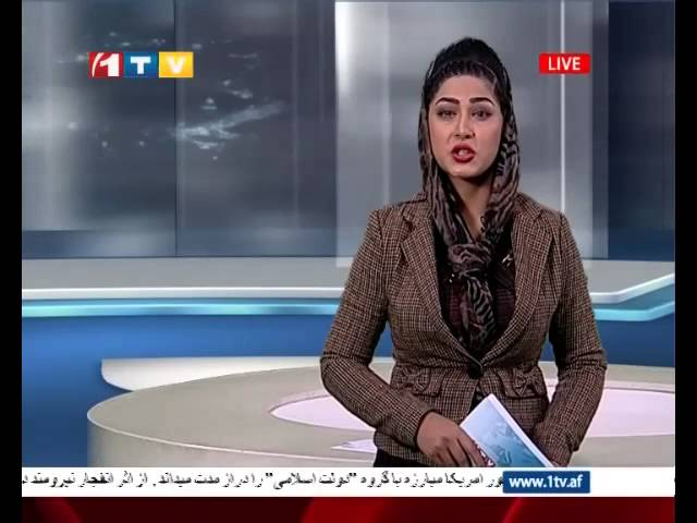 1TV Afghanistan Pashto News 15.10.2014 ???? ??????