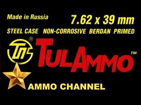 AMMOTEST: Cheap 7.62x39 Ammo - Russian TulAmmo