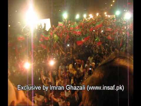 Ali Azmat: Jazba-e-junoon - Pti Dharna - Karachi video