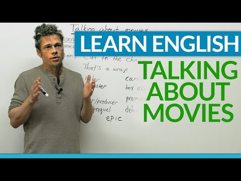 Vocabulary – Talking about MOVIES in English