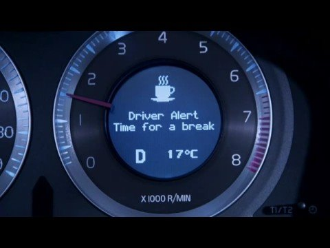 Volvo Xc60 Driver Alert Control Youtube