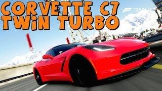Forza 5   Twin Turbo Corvette C7 Stingray   Drift Build!