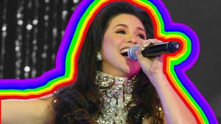 Regine Velasquez Before and After Acid Reflux|| MUSIC AND ME