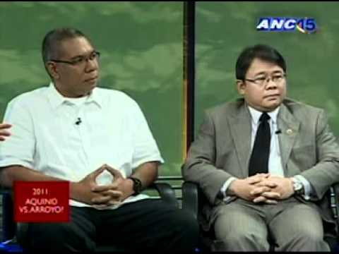 ANC Talkback: 2011: Aquino vs Arroyo? 1/3