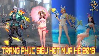 [Kinas] Tổng hợp trang phục siêu hot ra mắt hè 2018 Murad Siêu Việt và Tiệc bãi biển