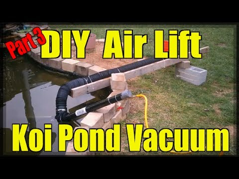 DIY Air Lift Koi Pond Vacuum (Part 3/3)