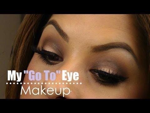 Bare minerals eye makeup tutorial
