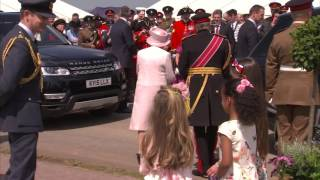The Queen at 300th Anniversary of The Royal Artillery