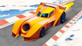 NEW BATMOBILE RACES! (GTA 5 Races)