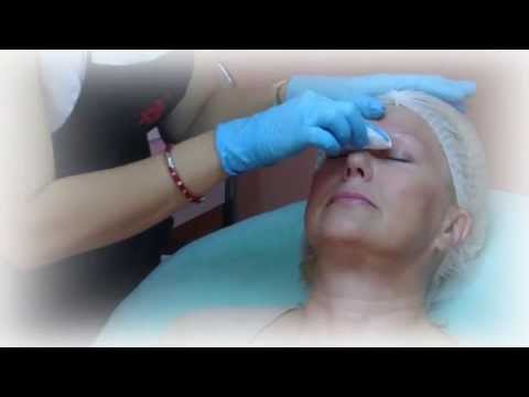 Hand method Eyebrows Permanent Makeup. Embroidery Eyebrows tattoo. Microblading.