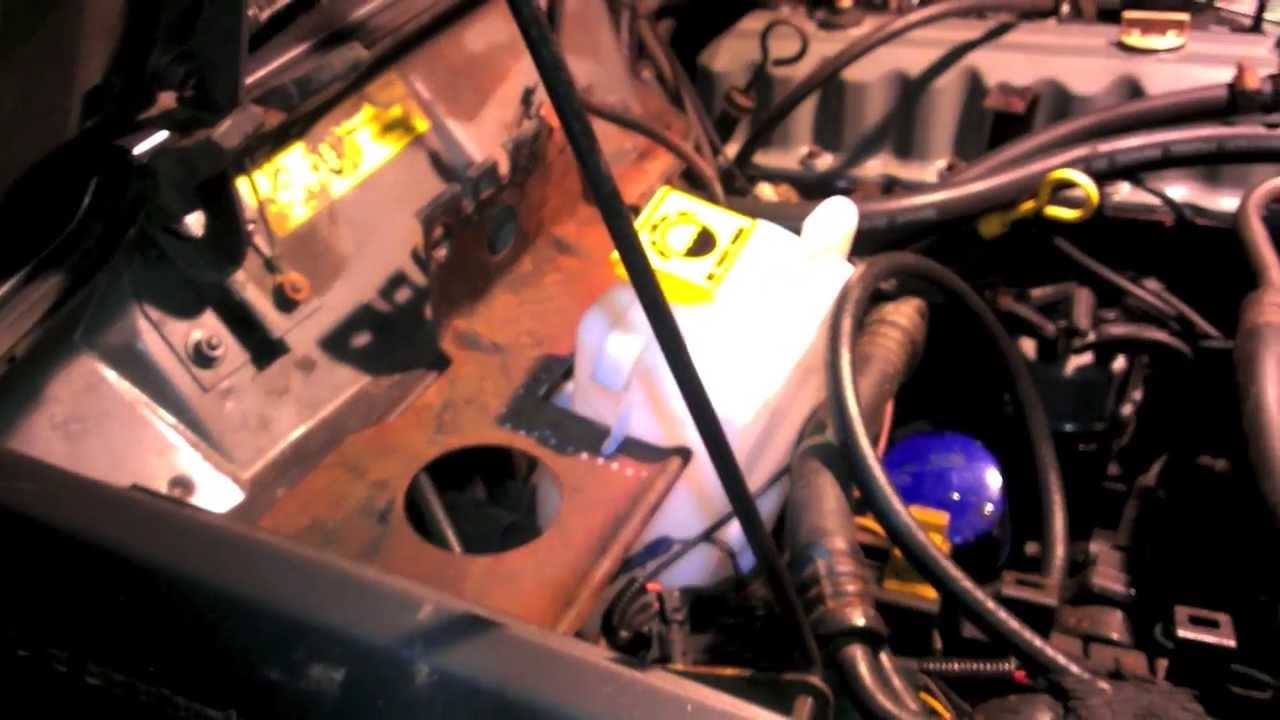89 Cherokee Closed To Open Cooling System Conversion Youtube