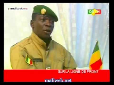 Sur la ligne de front invité: du jour Capitaine Amadou Haya Sanogo