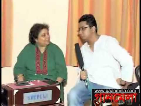 Srabani Sen Interview (P8) with Gaanmela - Hothon Se Chu Lo Tum