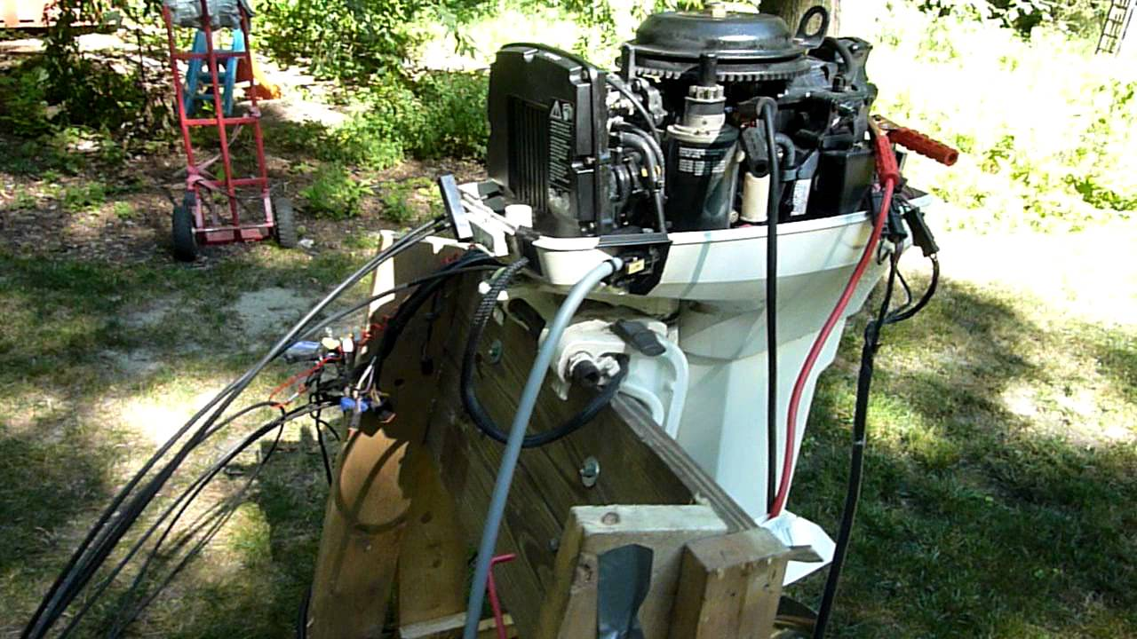 1998 johnson 50 hp spl outboard - intro