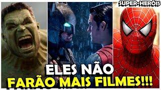 FILMES DE SUPER-HERÓIS? PRA ESSES ATORES NUNCA MAIS!!!
