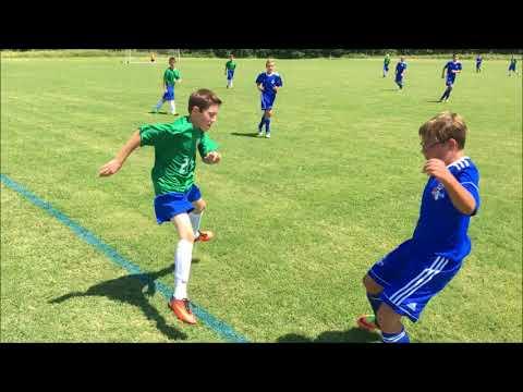 Soccer at SLYSA 8-26-17