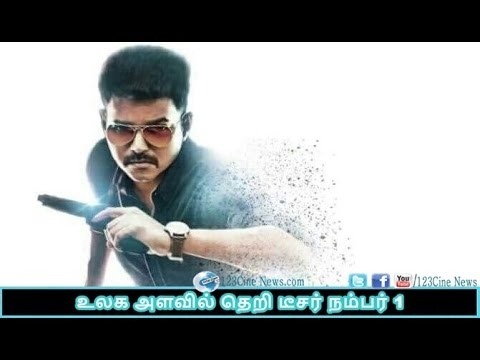 Theri teaser beat Vedhalam| 123 Cine news | Tamil Cinema news Online