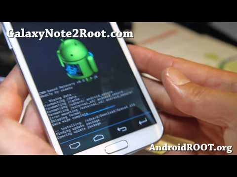 How to Install Custom ROM on Rooted Galaxy Note 2!