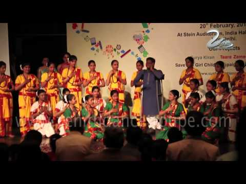 National Anthem, Jana Gana Man By Deaf And Dumb Kids Of Sun Foundation,zenith Dance Company video