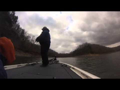 Lake Cumberland Fishing 1/4/15