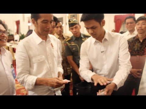 Presiden Jokowi Minta Diajarkan Sulap! | abracadaBRO Magic