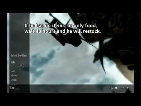 ♔ Skyrim - How to Make Easy Gold (PC/XBOX/PS3)