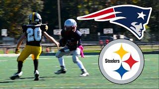 Download Steelers Vs Patriots   JV Football 3Gp Mp4