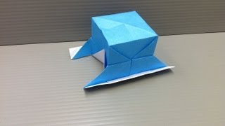 Daily Origami: 131 - Portable Shrine