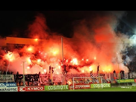 Aris Saloniki 1:1 PAOK 16.03.2014 Gate 3 Music Videos