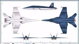 Ace Combat: Avions du Strangereal & Prototypes/F-A 18I Hornet ADV #9 french