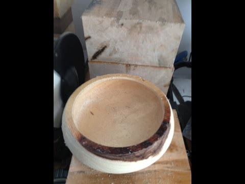 Wood Turning (Monkey Pod Bowl)