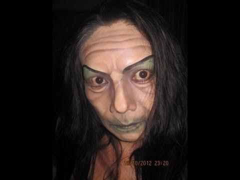maquillaje bruja mala