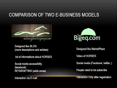 comparing two businesses