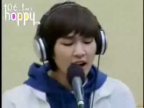 090124 SHINee Stand By Me Live Radio