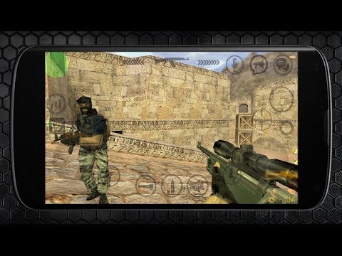 Counter Strike 1.6 Android Gameplay