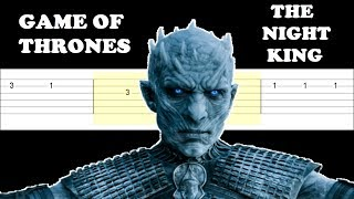 Game Of Thrones - The Night King (Easy Guitar Tabs Tutorial)