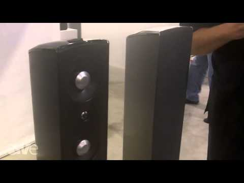 CEDIA 2013: Definitive Technology Talks About the Mythos STL Speakers
